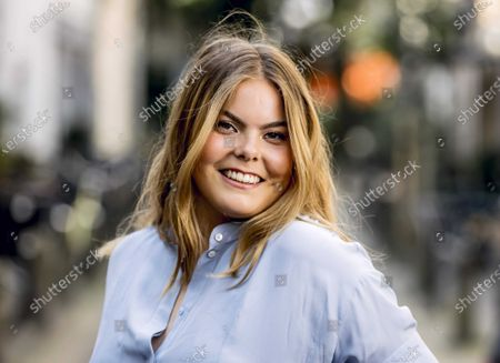 Portrait of Countess Eloise van Oranje in Haarlem, The Netherlands, 17 June 2021. The daughter of Prince Constantijn and Princess Laurentien has released a lifestyle book, where she provides answers to the questions which she receives from her followers on Instagram.