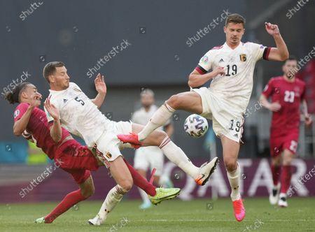 Editorial image of Group B Denmark vs Belgium, Copenhagen - 17 Jun 2021