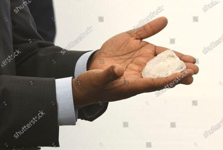 Editorial picture of Worlds third largest diamond found, Gaborone, Botswana - 17 Jun 2021
