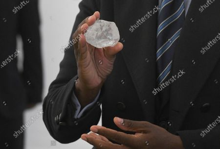 Editorial photo of Worlds third largest diamond found, Gaborone, Botswana - 17 Jun 2021