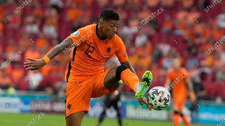 Patrick van Aanholt of the Netherlands during the Euro 2020 soccer championship group C match between the The Netherlands and Austria at Johan Cruijff ArenA in Amsterdam, Netherlands