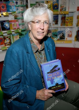 Editorial picture of Laurie R King promotes her new book 'The God of the Hive' at Waterstones, Reading, Britain - 22 Jul 2010