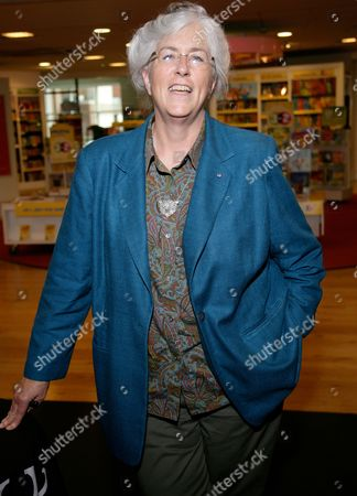 Editorial photo of Laurie R King promotes her new book 'The God of the Hive' at Waterstones, Reading, Britain - 22 Jul 2010