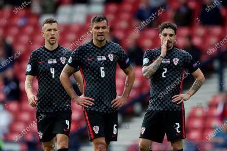 Editorial image of Croatia v Czech Republic, UEFA European Championship 2020, Group D, Football, Hampden Park, Glasgow, UK - 18 June 2021