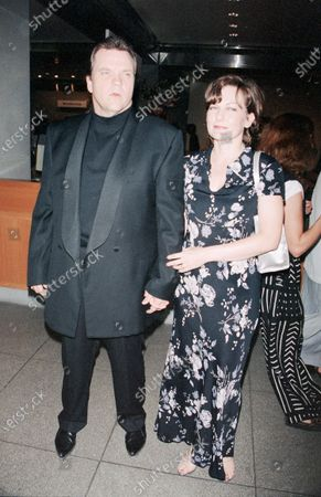 UNITED STATES - JANUARY 01:  Marvin Lee Aday, also known as the singer Meat Loaf, with his wife, Leslie Aday.