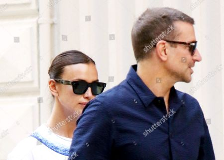 Stock Image of Irina Shayk and Bradley Cooper