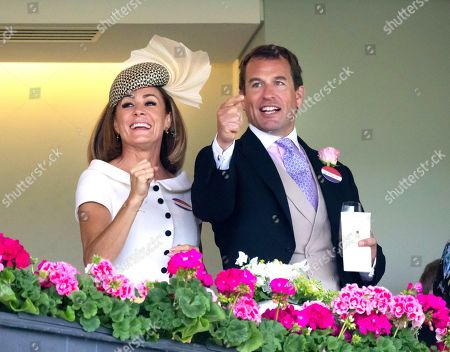 Natalie Pinkham and Peter Phillips