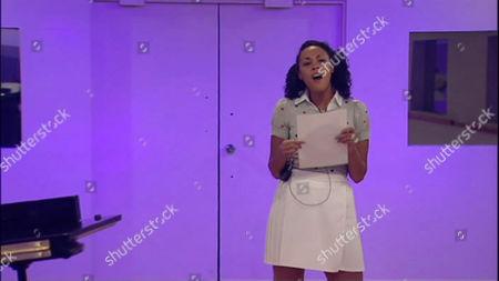 Rachel Ifon during her audition