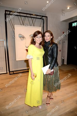 Anna Friel and Claire Forlani