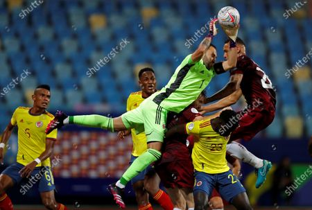 Editorial photo of Colombia vs Venezuela, Goiania, Brazil - 17 Jun 2021