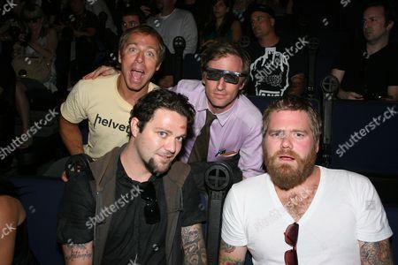 Dave England, Bam Margera, Spike Jonze and Ryan Dunn