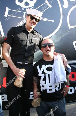 Johnny Knoxville and Jason Acuna