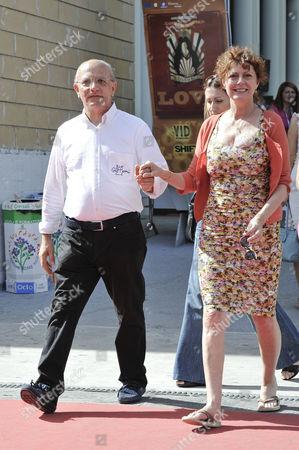 Claudio Gubitosi and Susan Sarandon