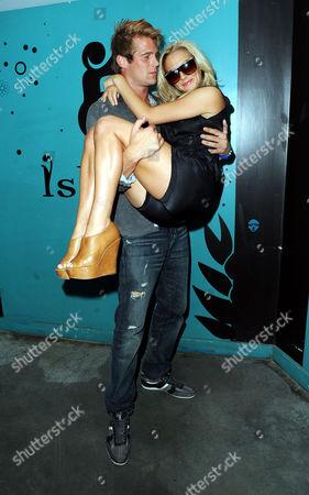 Jonas Erik Altberg with girlfriend Tara