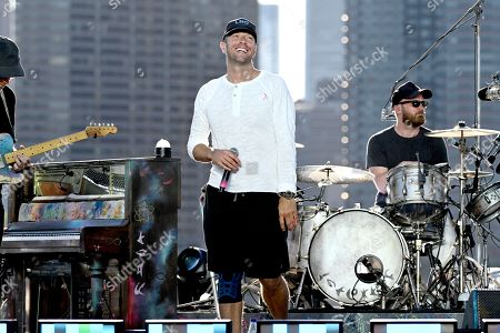 Coldplay - Chris Martin and Will Champion
