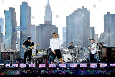 Coldplay - Chris Martin, Jonny Buckland, Guy Berryman and Will Champion