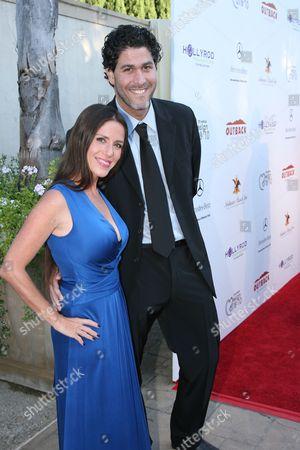 Soleil Moon Frye and Jason Goldberg