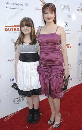 Stock Picture of Amy Yasbeck and Stella Ritter