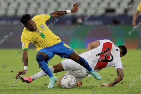Editorial image of Brazil vs. Peru, Rio De Janeiro - 17 Jun 2021