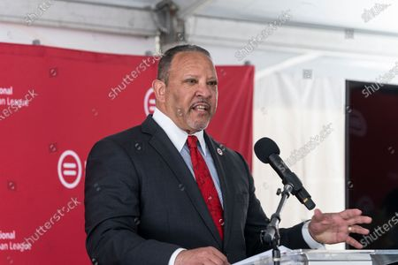 Editorial image of Construction kickoff for National Urban League Empowerment Center in Harlem, New York, United States - 17 Jun 2021