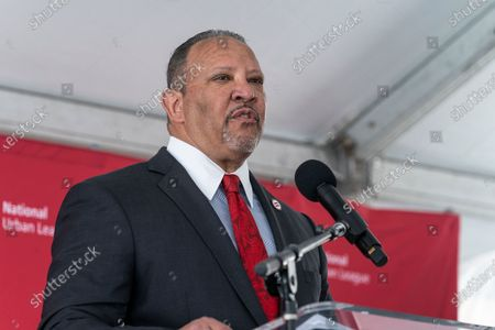 Editorial picture of Construction kickoff for National Urban League Empowerment Center in Harlem, New York, United States - 17 Jun 2021