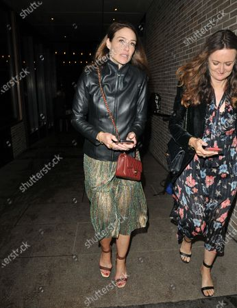 Claire Forlani and Lucy Yeomans