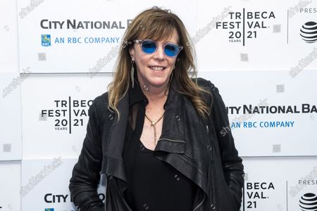 """Jane Rosenthal attends a screening of """"Blondie: Vivir En La Habana"""" during the 20th Tribeca Festival at The Battery, in New York"""