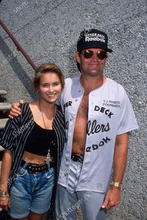 Actress Ami Dolenz and father, actor Mickey Dolenz.