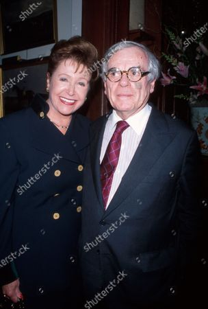 Writers Mary Higgins Clark and Dominick Dunne.