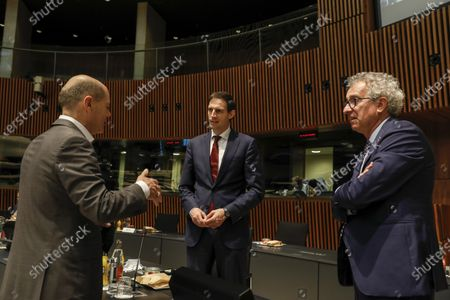 Editorial picture of EIB Board of Governors Annual Meeting in Luxembourg - 18 Jun 2021