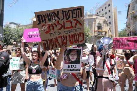 'Slut Walk' rally, Jerusalem