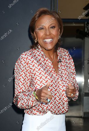Robin Roberts out and about, ABC studios, New York