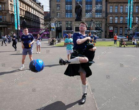 Scotland Fan Preparations