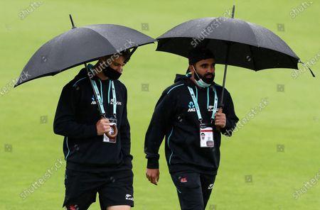 Editorial photo of New Zealand v India, ICC World Test Championship Final, Day Four, Cricket, Hampshire Bowl, Southampton, UK - 21 June 2021