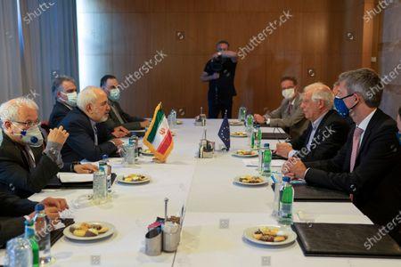 Editorial picture of EU Iran, Antalya, Turkey - 18 Jun 2021
