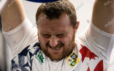 British & Irish Lions Gym Session, Jersey, United Kingdom 18/6/2021. Ken Owens