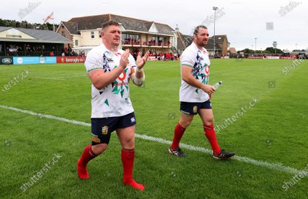 Editorial photo of 2021 British & Irish Lions Tour To South Africa - 18 Jun 2021