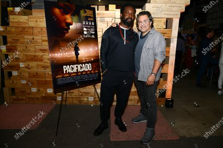 Stock Picture of Marlon James and Leopoldo Gout