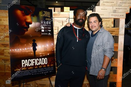 Marlon James and Leopoldo Gout