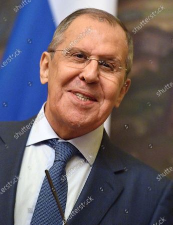 Russian Foreign Minister Sergei Lavrov meets Belarusian Foreign Minister Vladimir Makei, Moscow