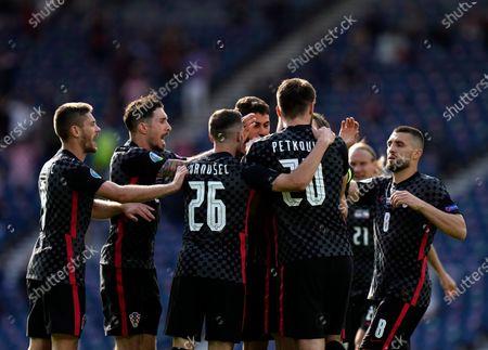 Editorial picture of Croatia Czech Republic Euro 2020 Soccer, Glasgow, United Kingdom - 18 Jun 2021