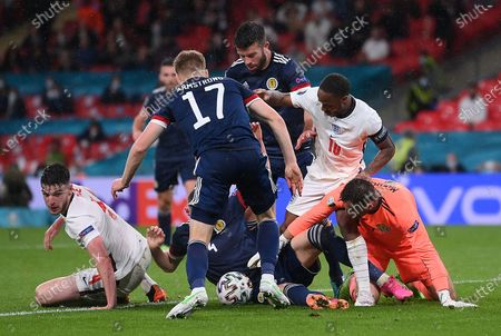 Editorial image of Group D England vs Scotland, London, United Kingdom - 18 Jun 2021