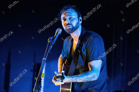 Shakey Graves performs in concert at Stubb's Bar-B-Q on June 17, 2021 in Austin, Texas.