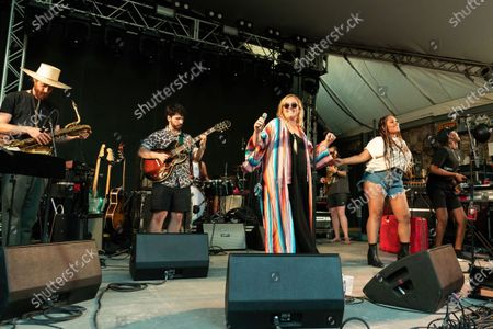 Sir Woman performs in concert at Stubb's Bar-B-Q on June 17, 2021 in Austin, Texas.