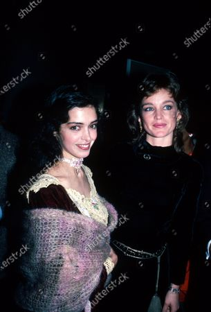 (L-R) Actresses Kathleen Beller and Pamela Sue Martin.