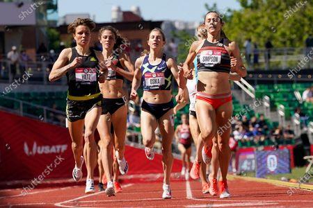Editorial picture of US Track Trials Athletics, Eugene, United States - 18 Jun 2021