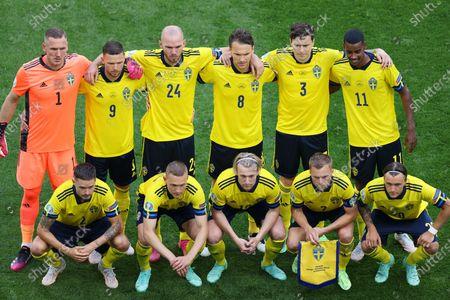 Editorial picture of Sweden Vs Slovakia in Saint Petersburg, Russia - 18 Jun 2021