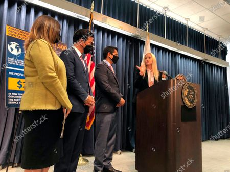 Editorial picture of California Human Trafficking, Los Angeles, United States - 18 Jun 2021