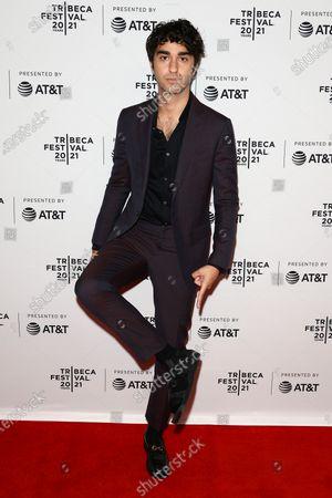 Nat Wolff at the 2021 Tribeca Festival Directors Series - M Night Shyamalan.