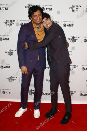 M Night Shyamalan and Nat Wolff at the 2021 Tribeca Festival Directors Series - M Night Shyamalan.